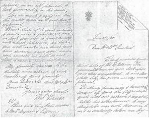 TF letter 1890